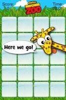 Screenshot of Giraffe's Matching Zoo