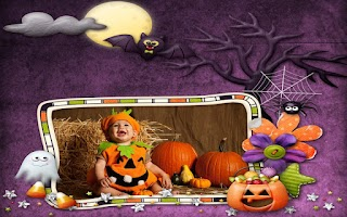 Screenshot of Halloween Photo Frames