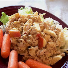 Curry Apple Tuna Salad