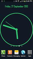 Screenshot of Analog Clock Live Wallpaper