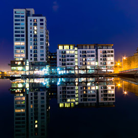 Grand Canal Dock Dublin by Joe Delaney - Buildings & Architecture Office Buildings & Hotels ( ireland, grand, dublin, canal, dock )
