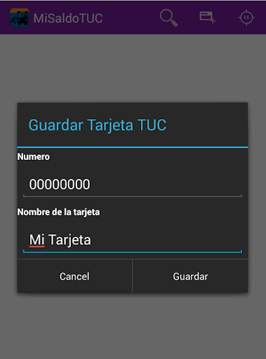 mi-saldo-tuc for android screenshot