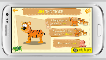 Screenshot of Safari Animals for Kids - Free