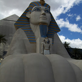 by Timothy Hatch - Buildings & Architecture Statues & Monuments ( luxor, sphinx, pyramid, architecture, vegas )