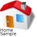 Home Sample icon