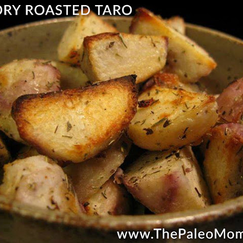 Savory Roasted Taro