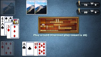 Screenshot of Aces Cribbage Classic