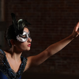 Behind The Mask by Paul Robinson - People Musicians & Entertainers ( dance photographer, dance, dancer,  )