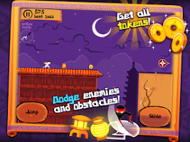 Screenshot of Ninja Nights Extreme - Runner