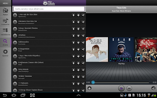 Screenshot of TTNET Müzik