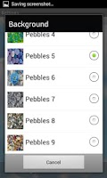 Screenshot of Water Pebbles
