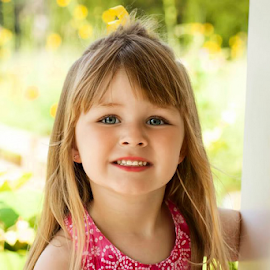 Summer portrait by Judy Deaver - Babies & Children Child Portraits ( summer, smiles, portrait )