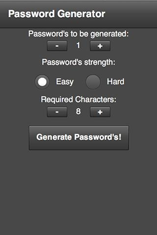 Password Generator **FREE**