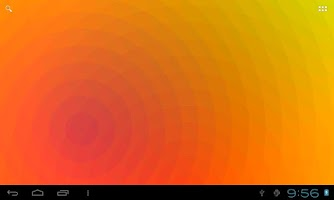 Screenshot of Nexus Waves Live Wallpaper