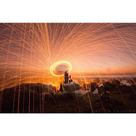 ✌️😅 by Aditya Herlian - Digital Art People ( SteelWool, bali, baliphotography, nightphotography, amburadul )