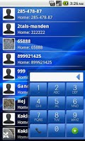 Screenshot of EasyDialer T9