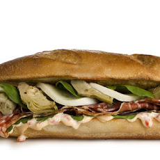 Italian Deli Blowout Sandwich