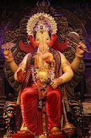 Screenshot of LalBaugCha Raja Ganpati Aarti