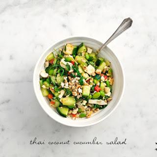 Cucumber Coconut Salad Recipes