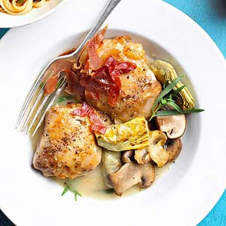 Chicken Thighs with Artichokes