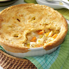 Cheddar Chicken Potpie