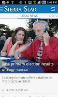Screenshot of Sierra Star/ Sierrastar.com