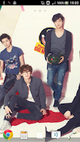 Screenshot of EXO-K Live Wallpaper