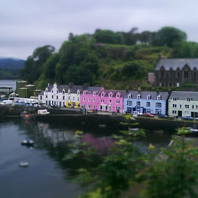 Toy town  by John Stewart  - Buildings & Architecture Other Exteriors ( tilt-shift, skye, portree,  )