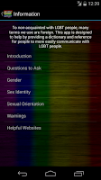 Screenshot of LGBT Lingo - MOGAI Dictionary
