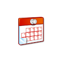 French Calendar icon