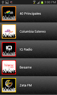 Radios Costa Rica - screenshot