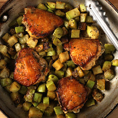 Braised Chicken and Chayote Recipe