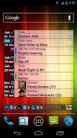 Screenshot of What and When Widget Lite