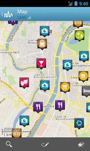 Lyon Travel Guide by Triposo - screenshot