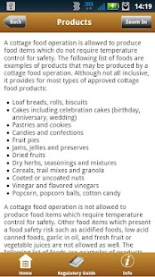 AFDO Cottage Foods - screenshot