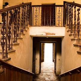 Stairway to Heaven by Sohil Laad - Buildings & Architecture Other Interior ( tourist, goa, street, old houses, travel )