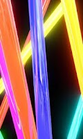 Screenshot of Neon lights free livewallpaper