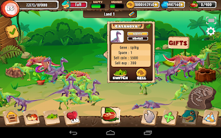 Screenshot of Dino Land