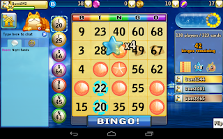 Screenshot of Bingo Beach