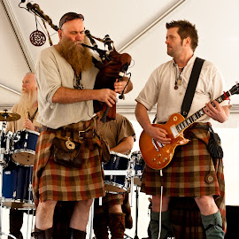 Saor Patrol by Phillip Campbell - People Musicians & Entertainers ( music, kilts, band, celtic, bagpipes, scottish, rock, musician,  )