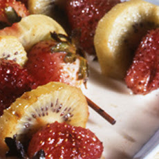 Strawberry And Kiwi Kebabs