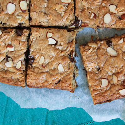 Joyful Almond Bars