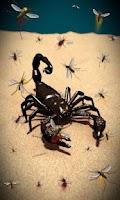 Screenshot of Scorpion Free live wallpaper
