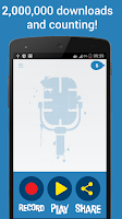 Screenshot of Helium Voice Changer