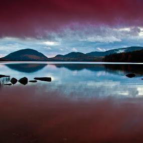 Maine sunset by Gale Perry - Landscapes Sunsets & Sunrises ( , #GARYFONGDRAMATICLIGHT, #WTFBOBDAVIS )