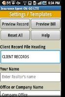 Screenshot of Insurance Agent ON GO PRO