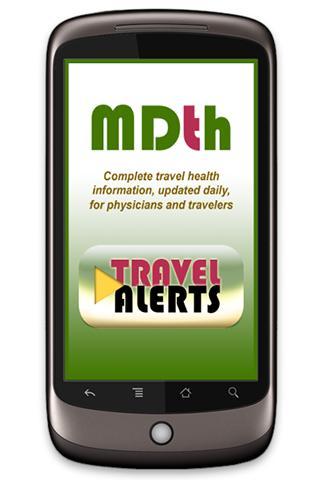 MDTH Travel Alerts