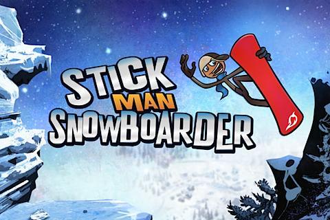 Stickman Snowboarder - screenshot