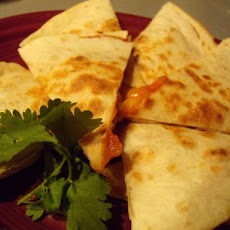 Easy Veggie Quesadilla