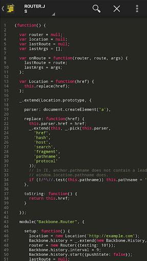 Source Code Viewer Pro - screenshot